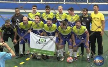 Vídeo - Duas goleadas na rodada desta terça da 3ª taça Turim de futsal