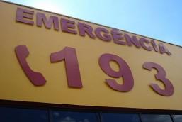 Três pessoas são levadas ao hospital em saída de pista na 161 em Palma Sola.