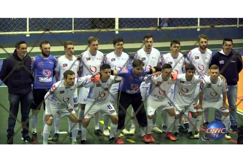 Jogo emocionante na 3ª Fase da Copa Ric Em Campo Erê.