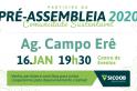 Pré-assembleia do Sicoob MaxiCrédito de Campo Erê é nesta quinta-feira, 16 de janeiro