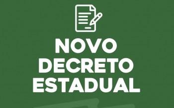 Governadora prorroga decreto de restrições até dia 26