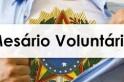 Cadastro para mesário voluntário já esta disponível