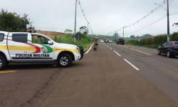 Polícia chega ao local de acidentes e não encontra envolvidos