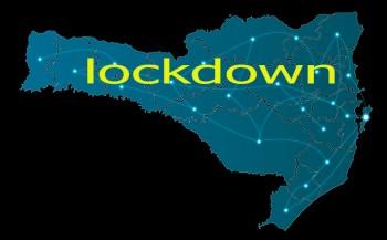 Governador de SC decreta lockdown para os próximos dois finais de semana