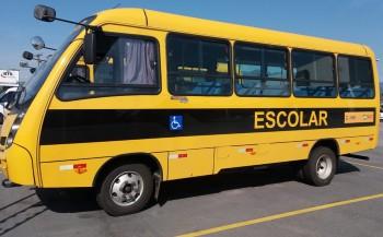 Novos ônibus escolares para a região - São Bernardino também é beneficiado