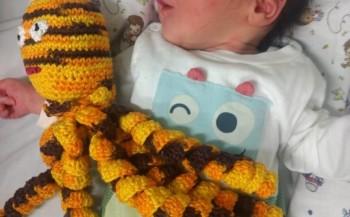Polvos de crochê auxiliam na recuperação de crianças prematuras