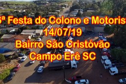 26ª Festa do Colono e Motorista de Campo Erê