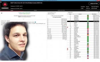 Jovem de São Bernardino ganha mais de R$ 60 mil em torneio de pôquer