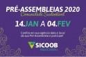 Sicoob MaxiCrédito divulga calendário das pré-assembleias de 2020. Confira as datas