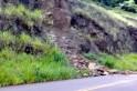 PMRe atende queda de barreira na SC 160 em Bom Jesus do Oeste