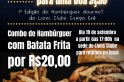 Lions promove dia do hambúrguer gourmet
